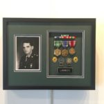 Military Badge Custom Framing
