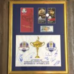 Custom Framing sports memorabilia