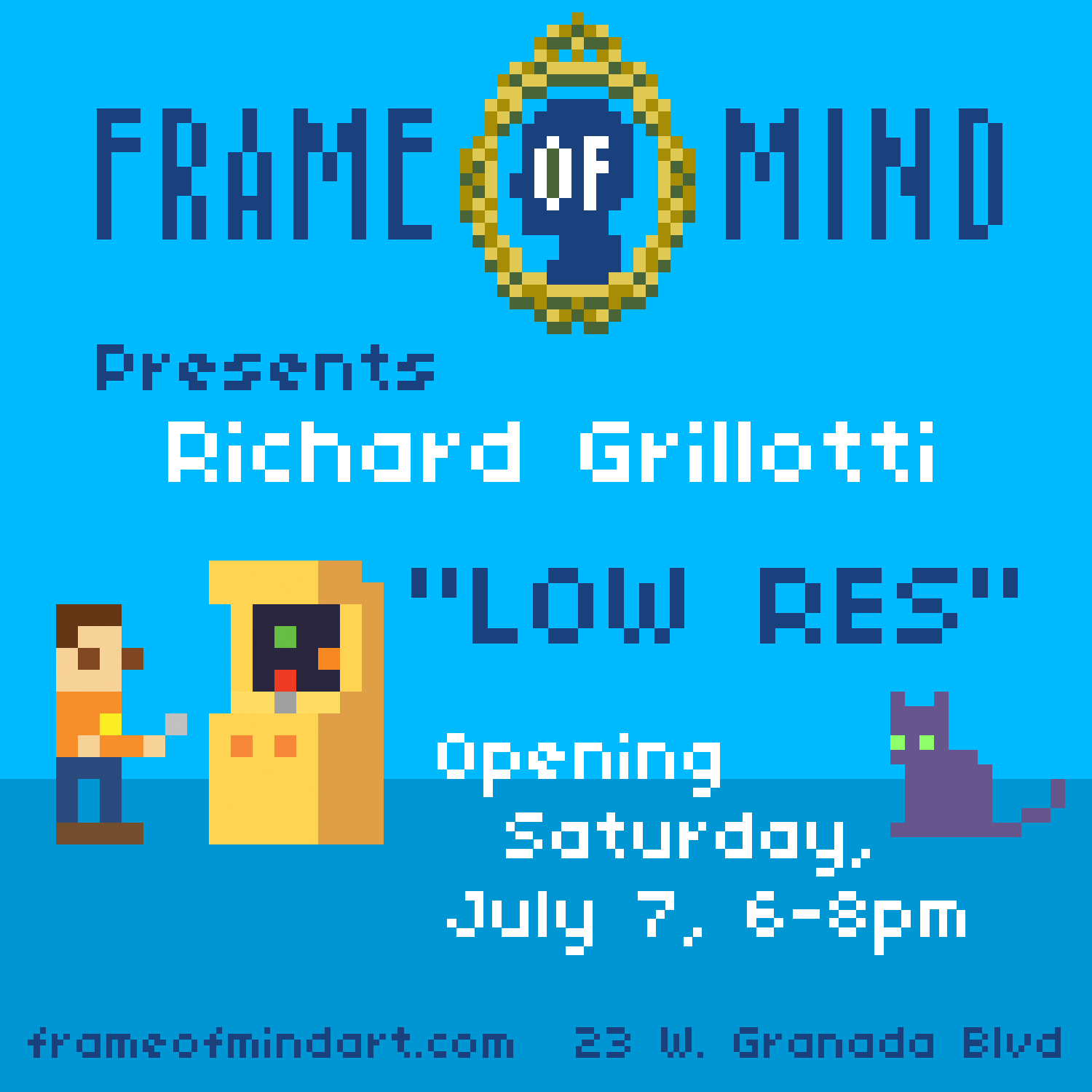 Quot Low Res Quot By Richard Grillotti At Fom Frame Of Mind